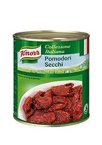 Knorr Saulē kaltēti tomāti saulespuķu eļļā 0,75 kg