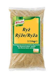 Knorr Tvaicēti gargraudu rīsi 5 kg