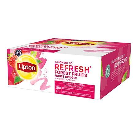 Lipton Melnā tēja ar meža ogu aromātu