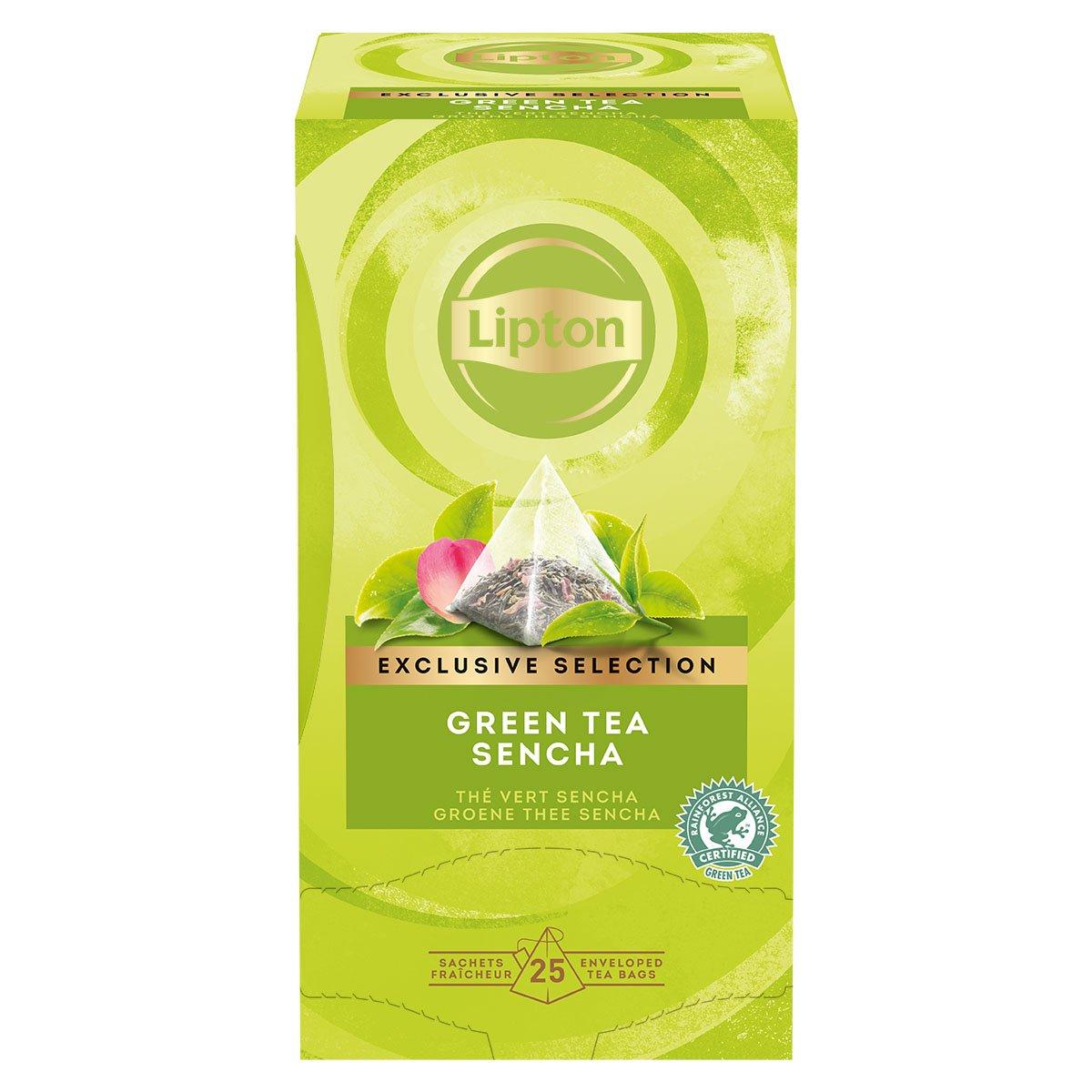 Lipton Zaļā aromatizētā tēja ar rožu ziedlapiņām -