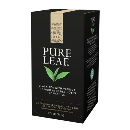 Pure Leaf Melnā tēja ar vaniļu -