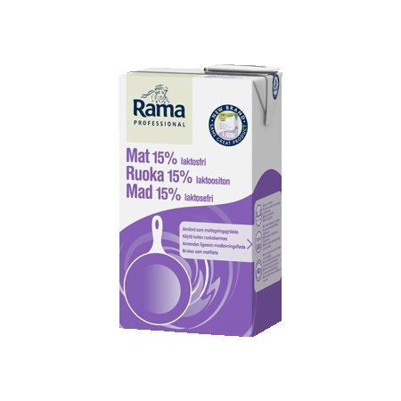 Rama Lactose Free cream 15% 1l (Pārdošanai tikai Igaunijā)