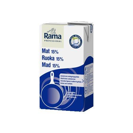 Rama Proffesional Cooking Low Lactose (15%) 1L x 8 (Pārdošanai tikai Igaunijā) -