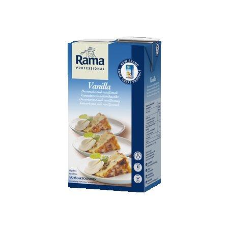 Rama Proffesional Vanilla Lw Lactose (12%) 1L x 8 (Pārdošanai tikai Igaunijā) -