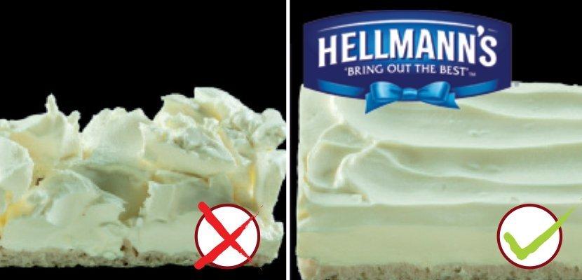 Hellmann's Sandwich Delight Smērējamais krēms 1,5 kg - Viegli smērējams krēmīgs siers ar zemāku tauku saturu