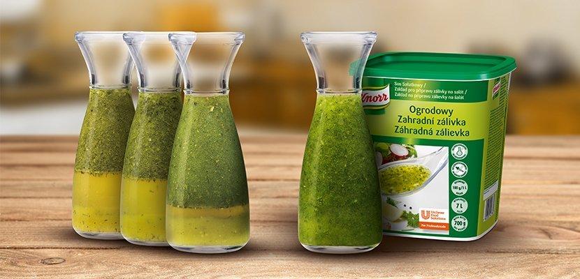 Knorr Dārza Salātu Mērce 0,7 kg - Tā pati atsvaidzinošā garša, labāka konsistence