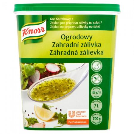 Knorr Dārza Salātu Mērce 0,7 kg - Tā ir īpaši atsvaidzinoša salātu mērce, kas neatslāņojas, lai salāti izskatītos lieliski.
