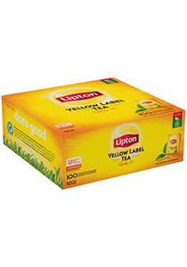 Lipton Yellow Label Melnā tēja 100