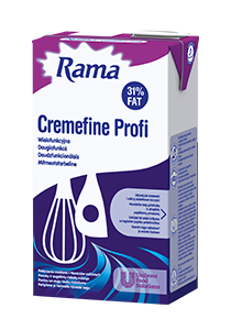 Rama Cremefine Profi 31% Paniņu un augu tauku maisījumu