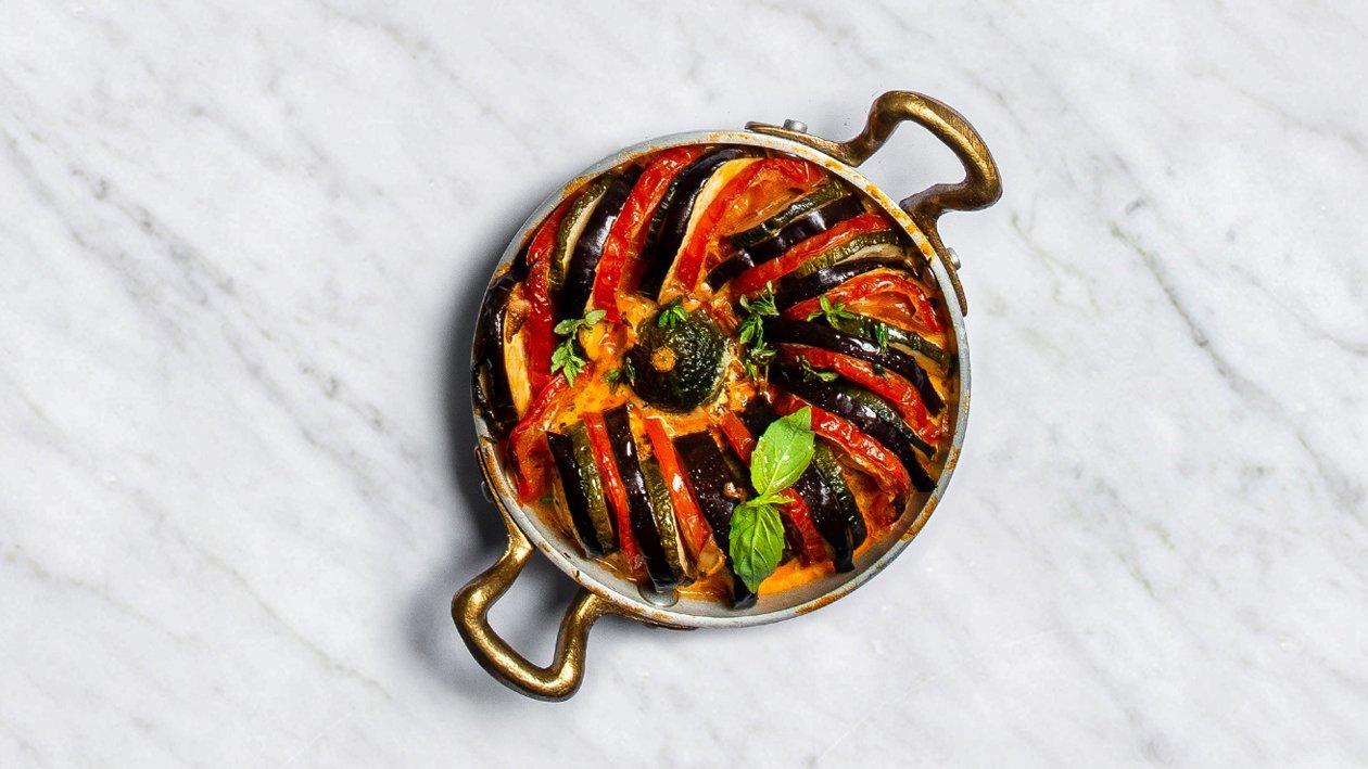Dārzeņu ratatujs – Recepte