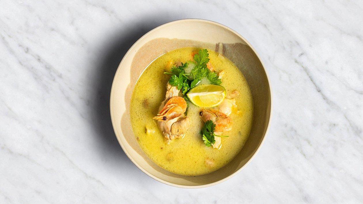 Kokosriekstu piena zupa – Recepte