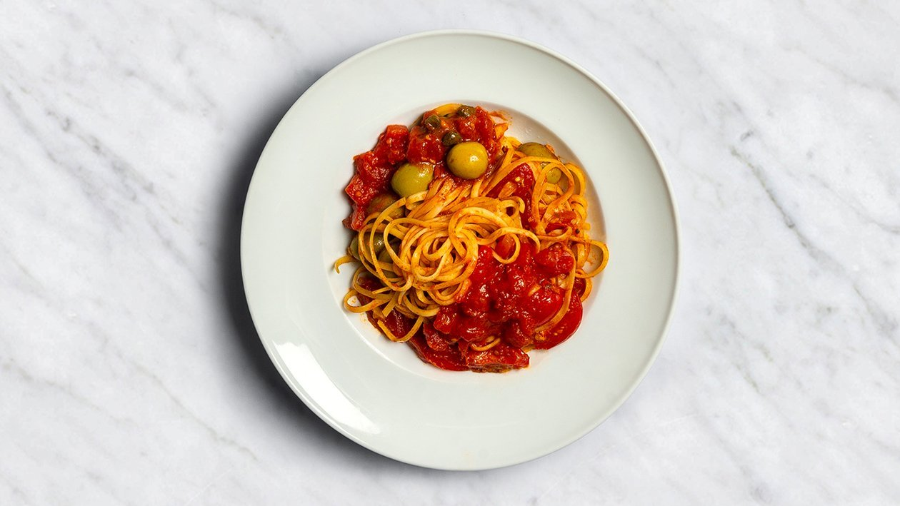 Makaroni à la puttanesca – Recepte