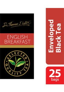 Sir Thomas Lipton Uncang Teh Sampul English Breakfast 2.4g -