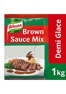 Knorr Campuran Sos Perang Demi Glace 1kg - Sos Perang Demi Glace Knorr mudah untuk digunakan dan memberikan keenakan sos demi-glace yang konsisten.
