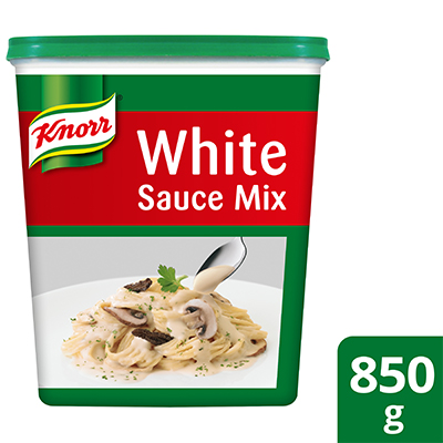 Knorr Campuran Sos Putih 850g - Knorr Campuran Sos Putih membantu anda untuk menyampaikan hidangan pasta yang konsisten.