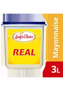 Lady's Choice Mayonis Sebenar 3L - Mayonis Sebenar Lady's Choice adalah  asas yang versatil dalam menghasilkan pelbagai jenis sos pencicah untuk pengalaman sajian yang unik dan menarik.