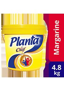 Marjerin Planta Chef 4.8kg - Planta memberikan warna keemasan dan aroma harum yang digemari rakyat Malaysia sejak 1930-an.