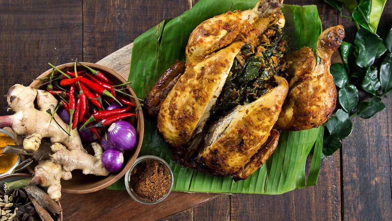 Ayam Bertutu Bali