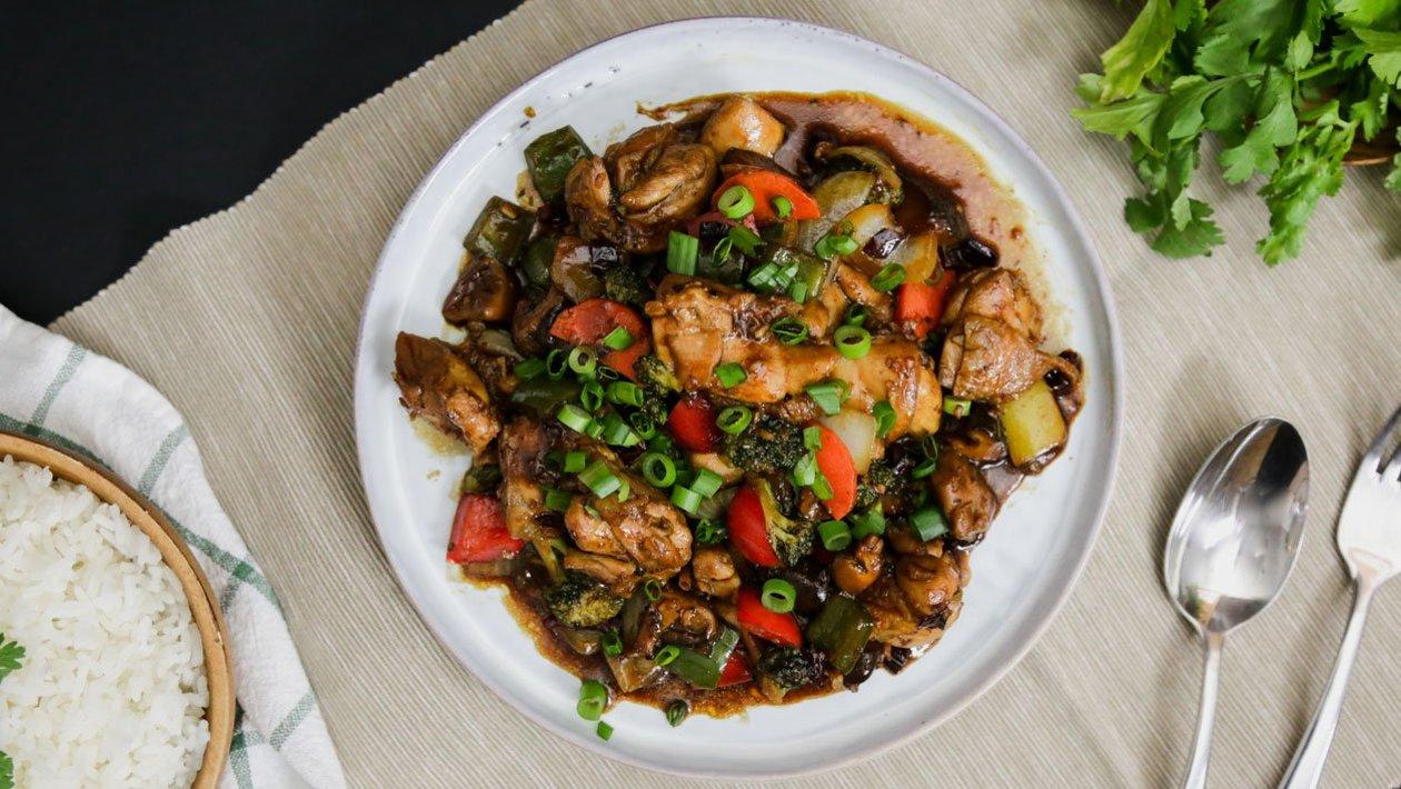 Ayam Kicap Szechuan