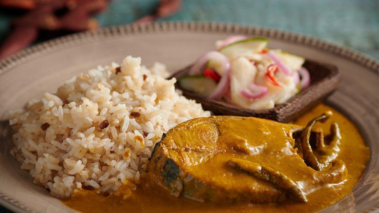 Nasi Dagang Gulai Ikan Tongkol