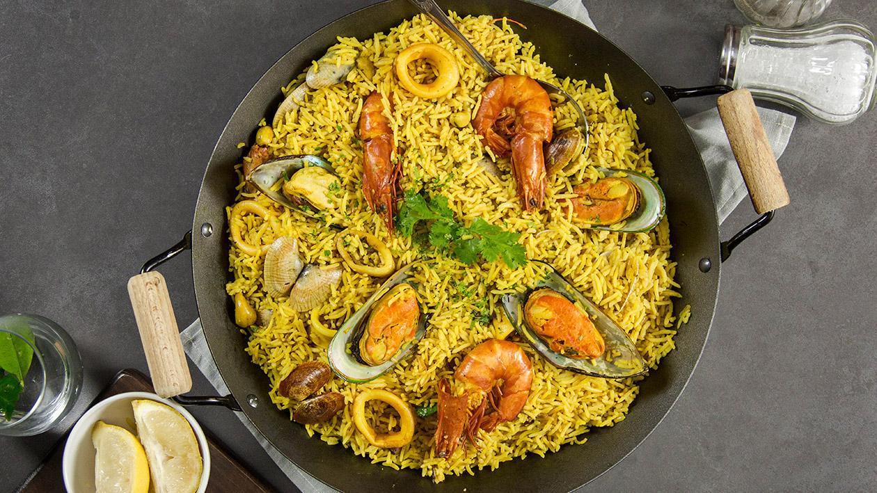 Nasi Pilaf Makanan Laut