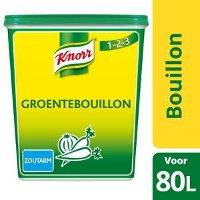 Knorr 1-2-3 Groentebouillon Poeder zoutarm