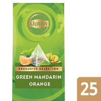 Lipton Exclusive Selection Green Tea Mandarin Orange