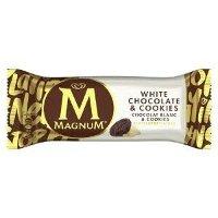 Magnum Ola Ijs White Chocolate & Cookies | 20 x 90 ml