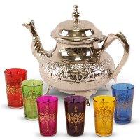 Marrokaanse theeset