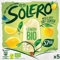 Ola Solero Ijs Bio Lemon - 5 x 52 ml