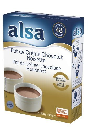 Alsa Pot de Crème Chocolade & Hazelnoot