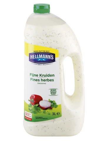 Hellmann's Dressing Fijne Kruiden-Bieslook  -