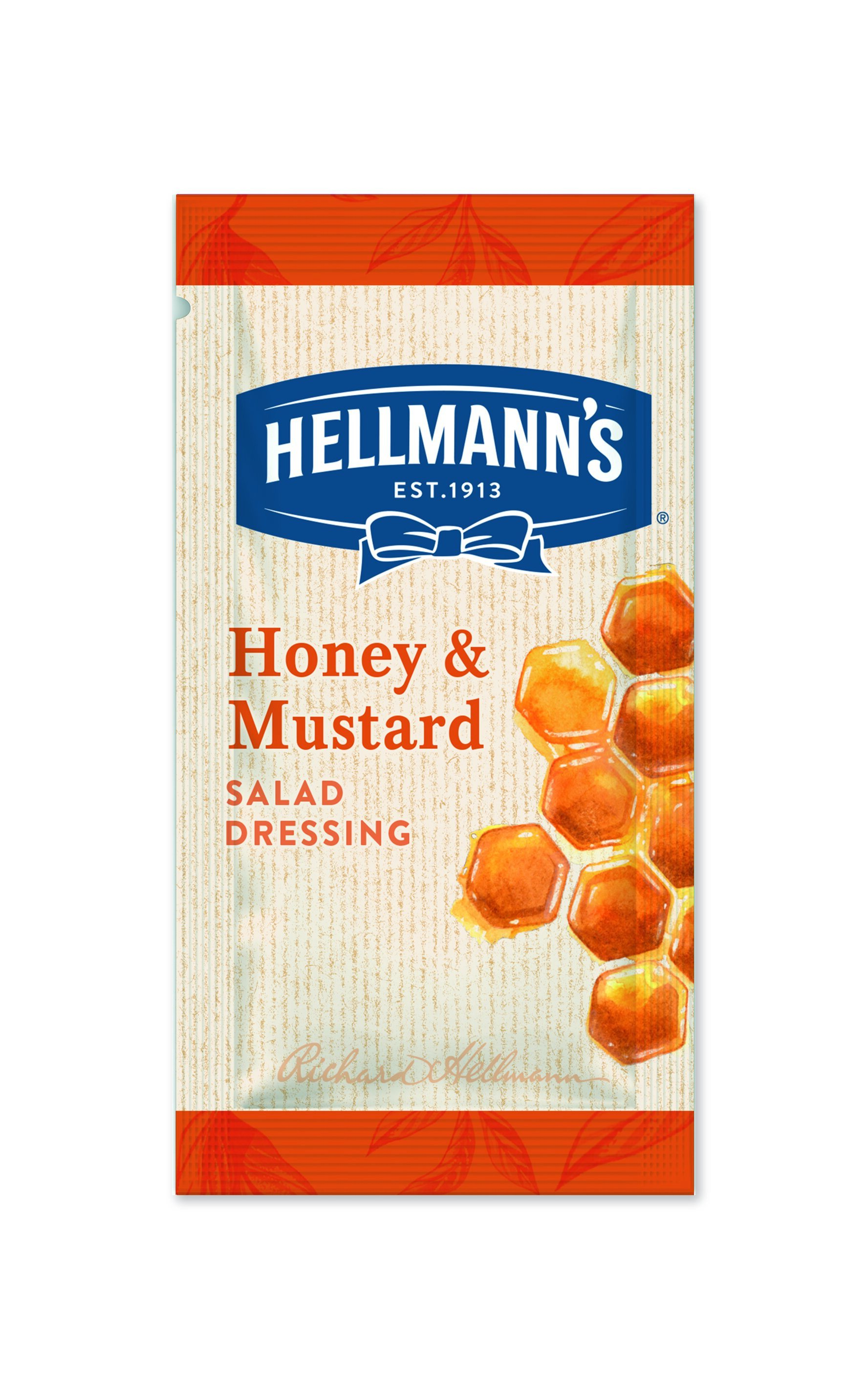 Hellmann's Honey Mustard Dressing 50 x 30 ml -