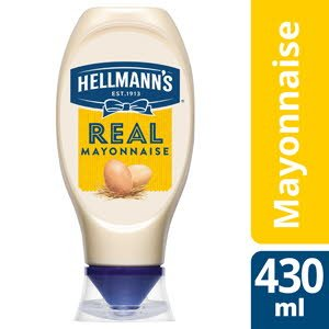 Hellmann's Real mayonaise - Squeeze Free -