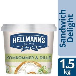 Hellmann's Sandwich Delight Komkommer-Dille