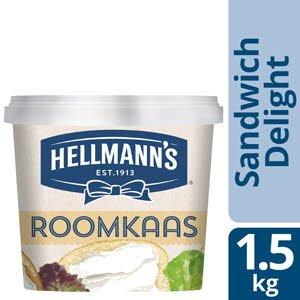 Hellmann's Sandwich Delight Roomkaas Natuur  -