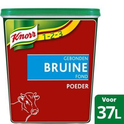 Knorr 1-2-3 Gebonden Bruine Fond Poeder  -