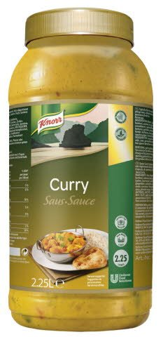 Knorr Asian Selection Curry Saus    -