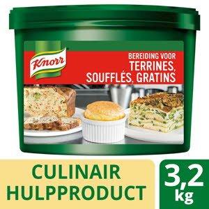 Knorr Bereiding voor Terrines, Soufflés, Gratins  -