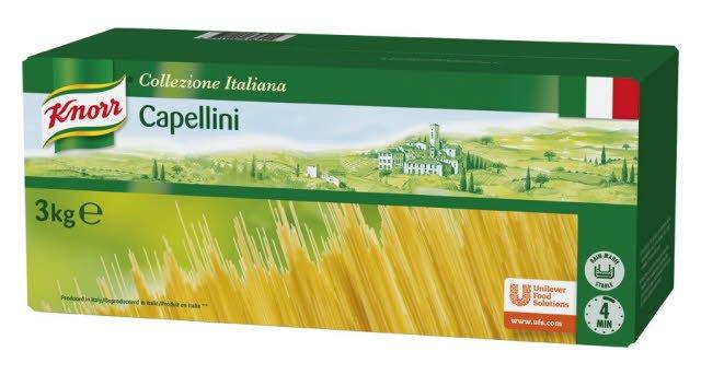 Knorr Collezione Italiana Deegwaren Capellini