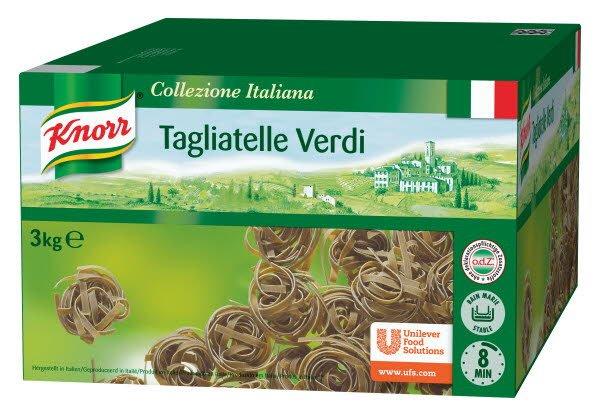 Knorr Collezione Italiana Deegwaren Tagliatelle Verdi  -
