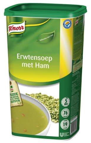 Knorr Erwtensoep met ham -