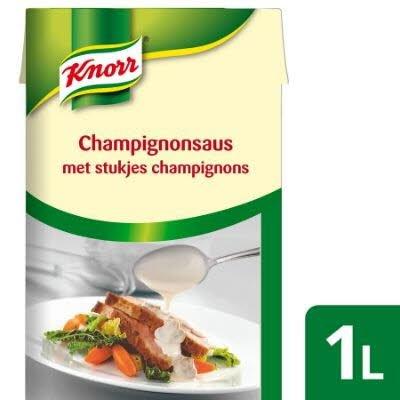 Knorr Garde d'Or Champignonsaus, met garnituur -