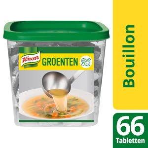 Knorr Groentebouillon 66 Tabletten -