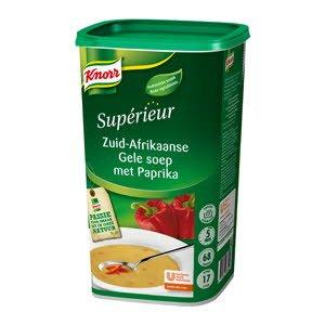 Knorr Supérieur Zuid-Afrikaanse Gele Soep met Paprika  -