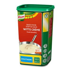 Knorr Witte Crème zoutarm