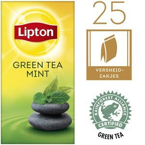 Lipton Everyday Green Tea Munt