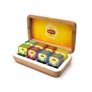 Lipton Exclusive selection Theekist 8 vakken