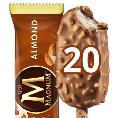 Magnum Almond | 20 x 120 ml -