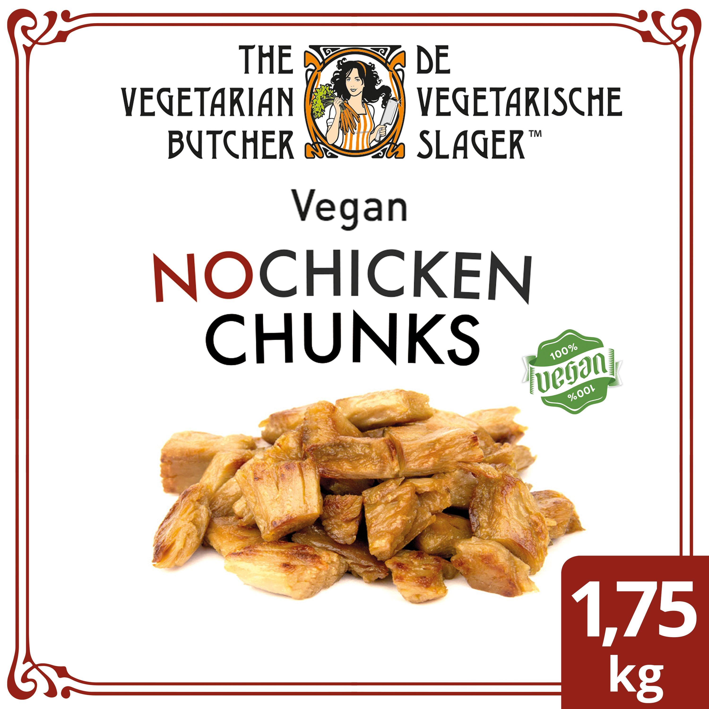 The Vegetarian Butcher NoChicken Chunks 1.75 kg - Veganistische stukjes, gemaakt van de beste ingrediënten